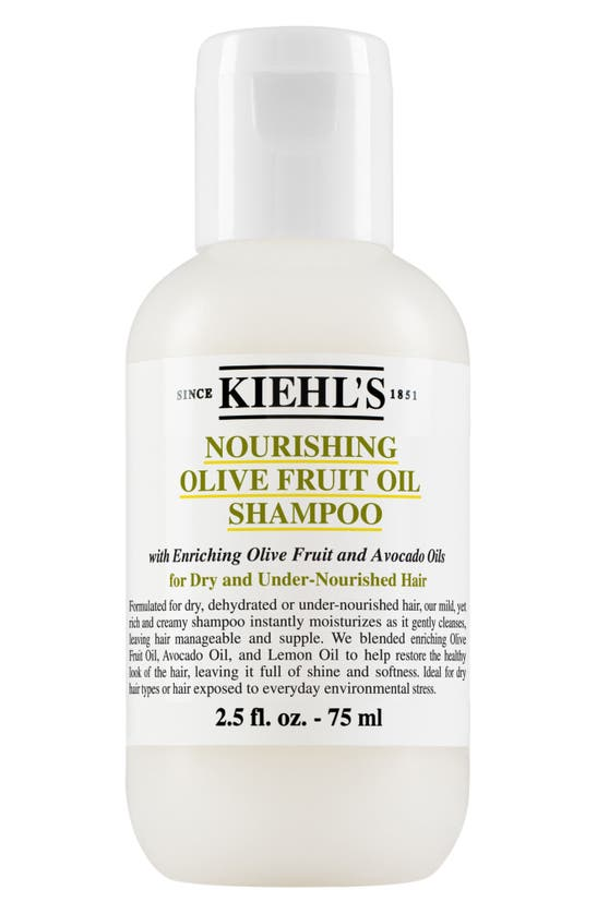 Kiehl's Since 1851 1851 Olive Fruit Oil Nourishing Shampoo, 16.9 oz