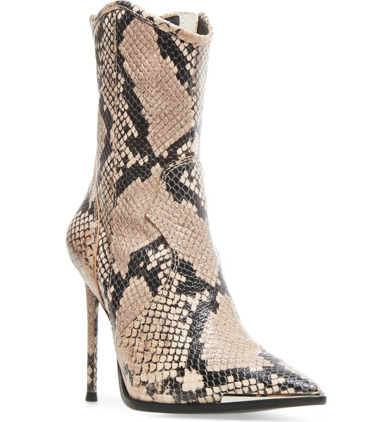 STEVE MADDEN Winnie Harlow x Steve Madden Tina Pointed Toe Western Bootie, Main, color, 297