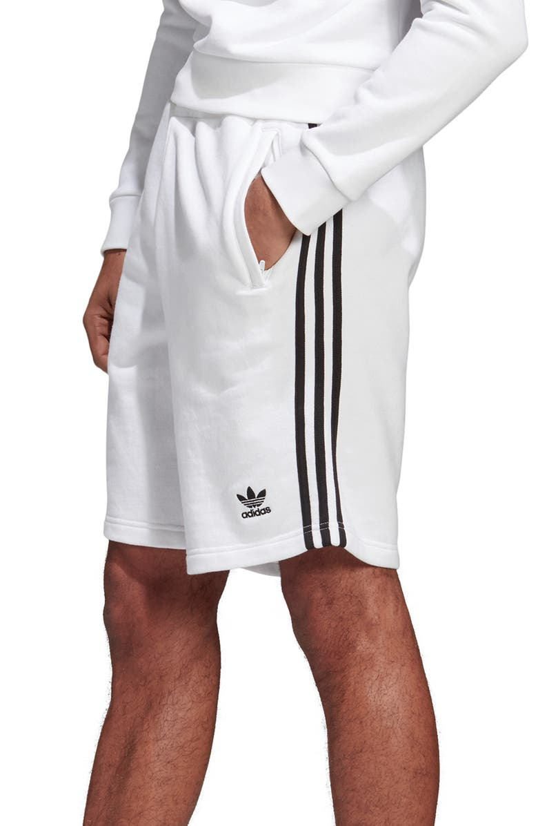Adidas Originals 3 Stripes Athletic Shorts