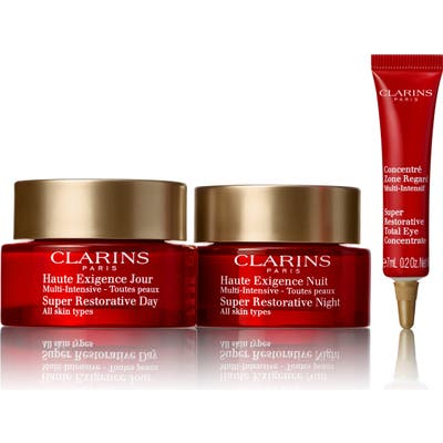 Clarins Super Restorative Day & Night Defense Set