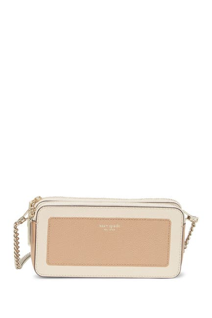 Image of kate spade new york margaux mini leather crossbody bag