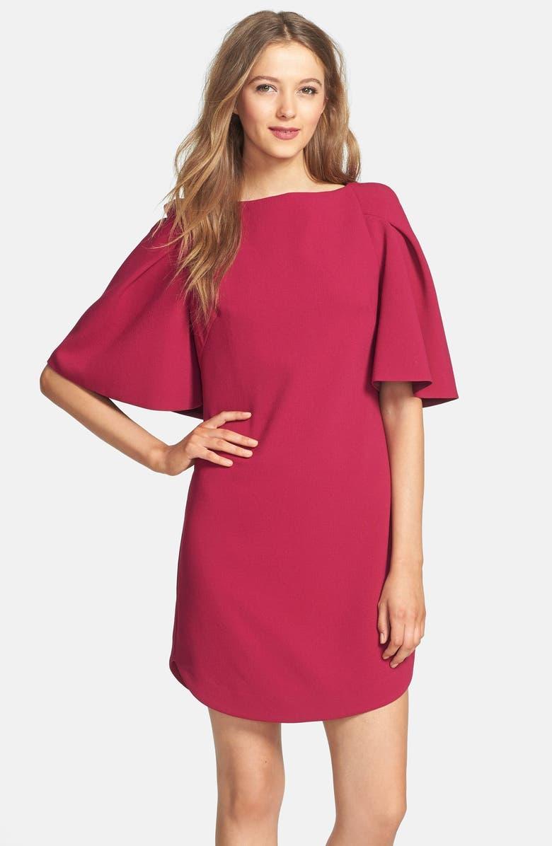 TRINA TURK 'Bryce' Crepe Shift Dresses, Main, color, 547