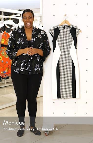 Colorblock Sheath Dress, sales video thumbnail