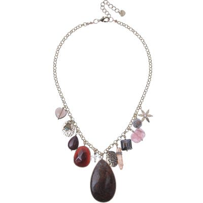Nakamol Design Semiprecious Stone Pendant Necklace