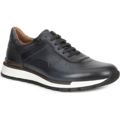 Bruno Magli Davio Low Top Sneaker, Black