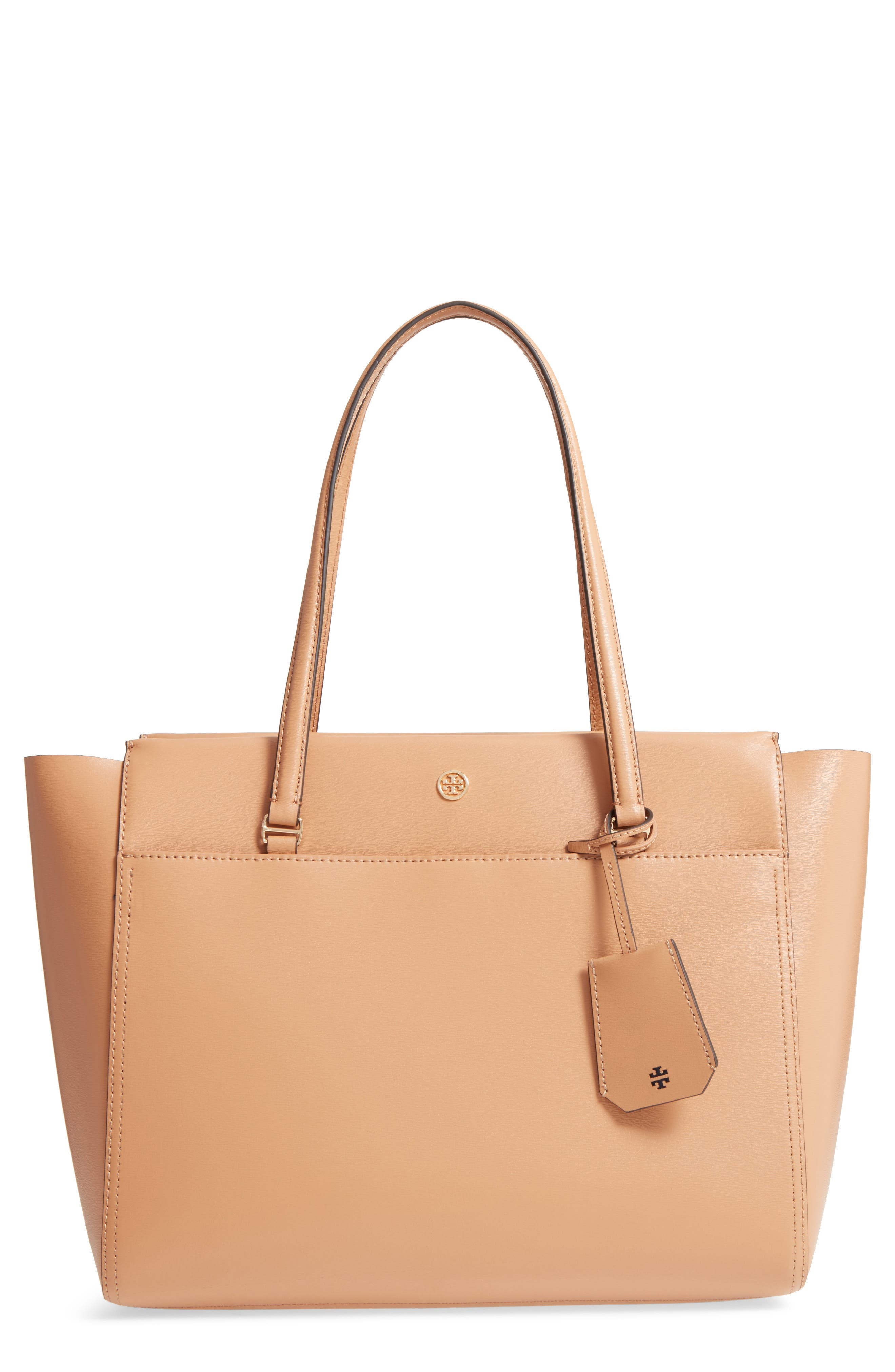 Parker Leather Tote, Main, color, 250