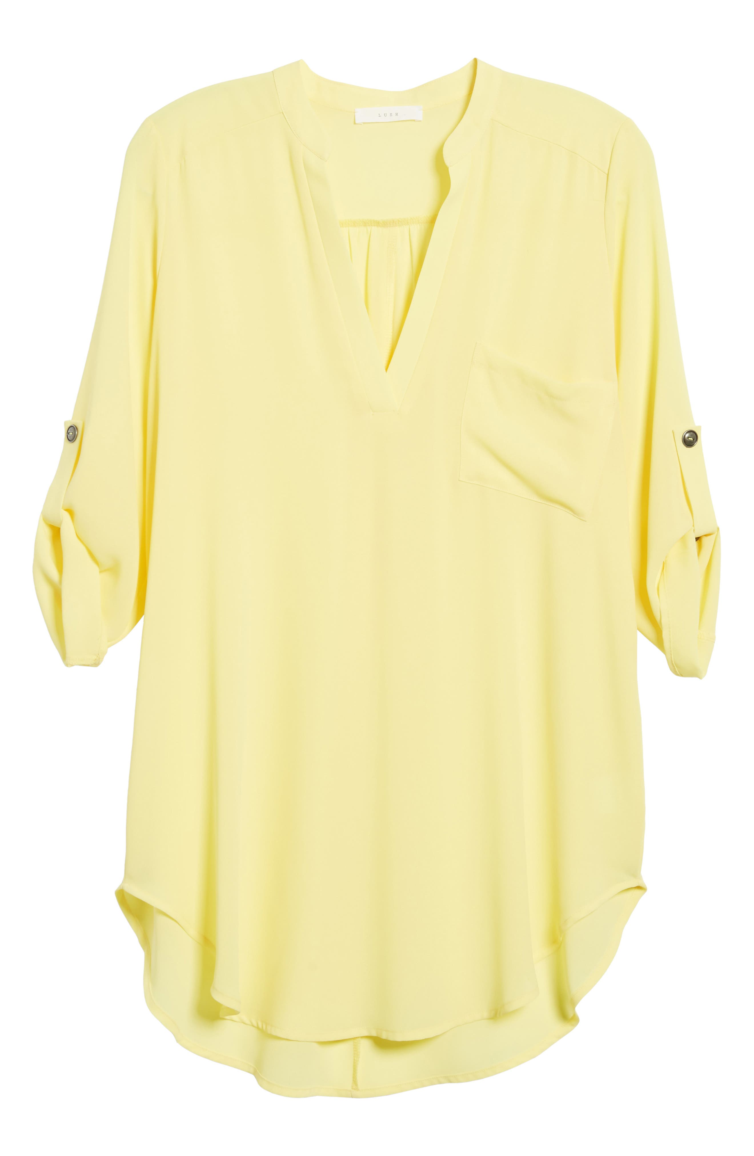 ,                             Perfect Roll Tab Sleeve Tunic,                             Alternate thumbnail 153, color,                             701