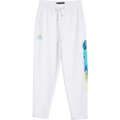 Jordan Nrg Basketball Logo Fleece Sweatpants,  Grey (Nordstrom Exclusive)