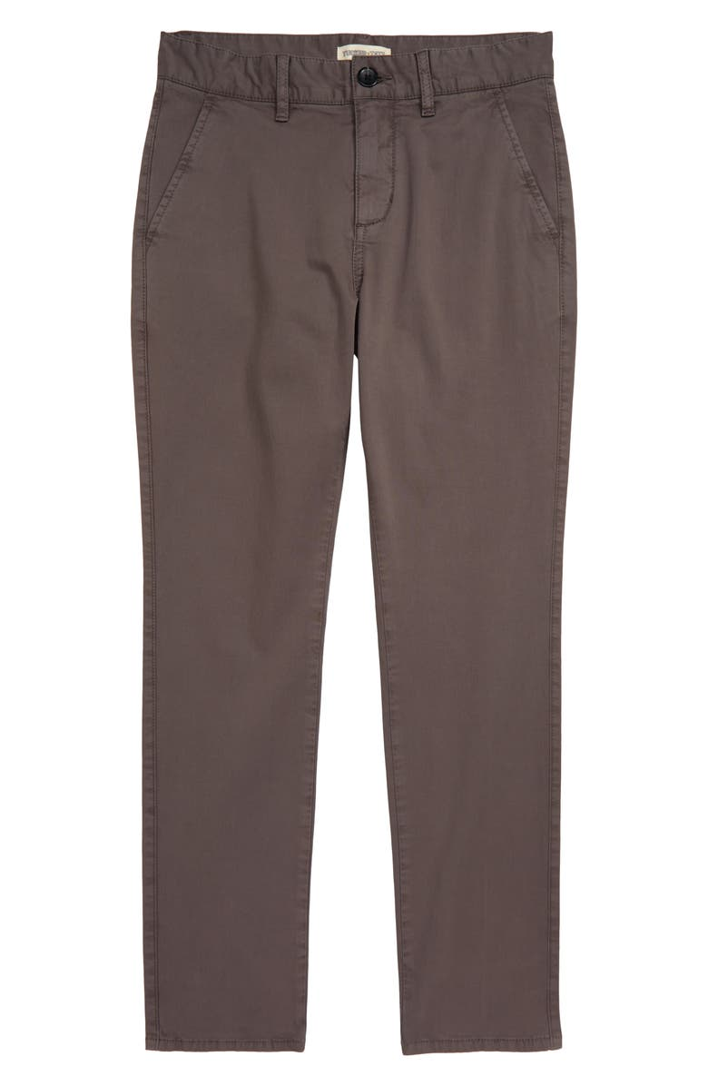 TUCKER + TATE Trailblazer Chinos, Main, color, GREY FLANNEL