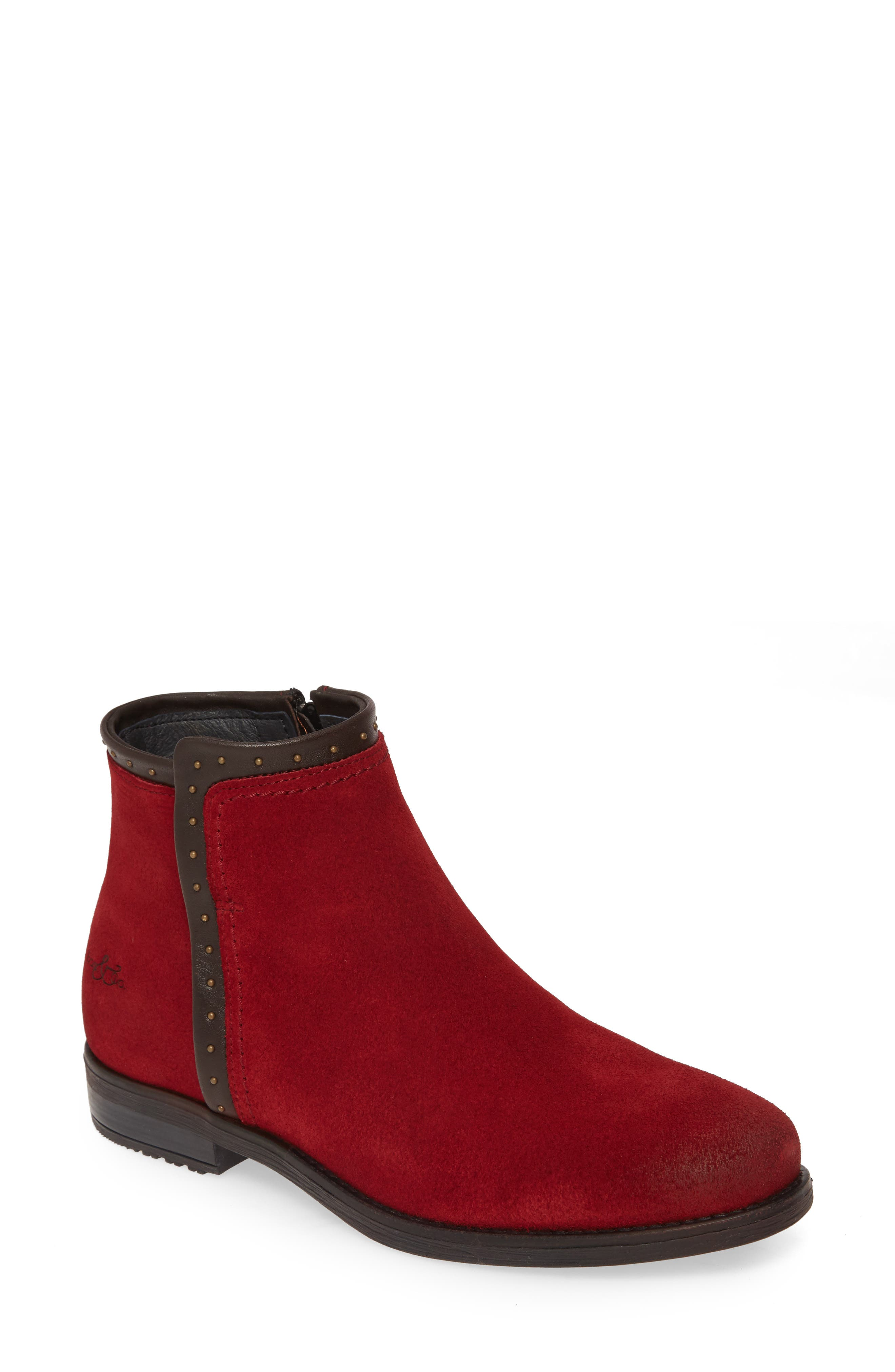 Bos. & Co. Ribos Bootie - Red
