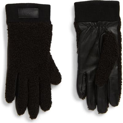 UGG Touchscreen Compatible Gloves, Black