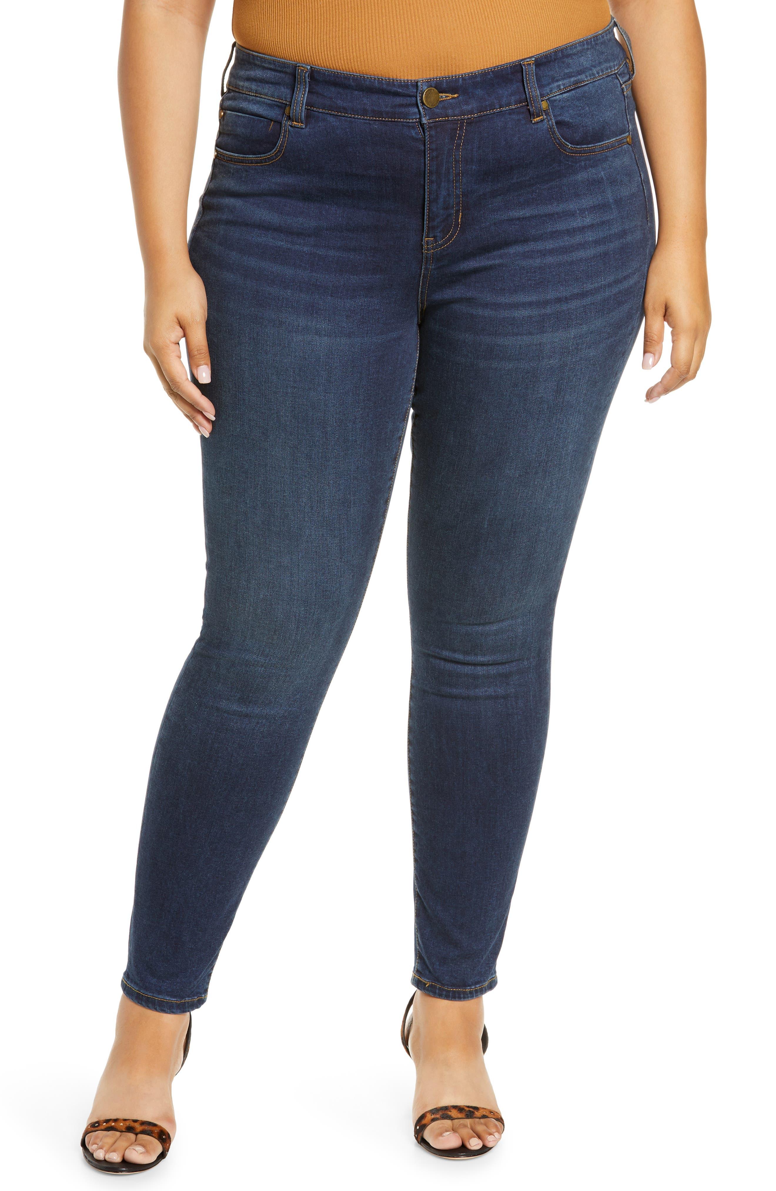Abby Sustainable High Waist Skinny Jeans