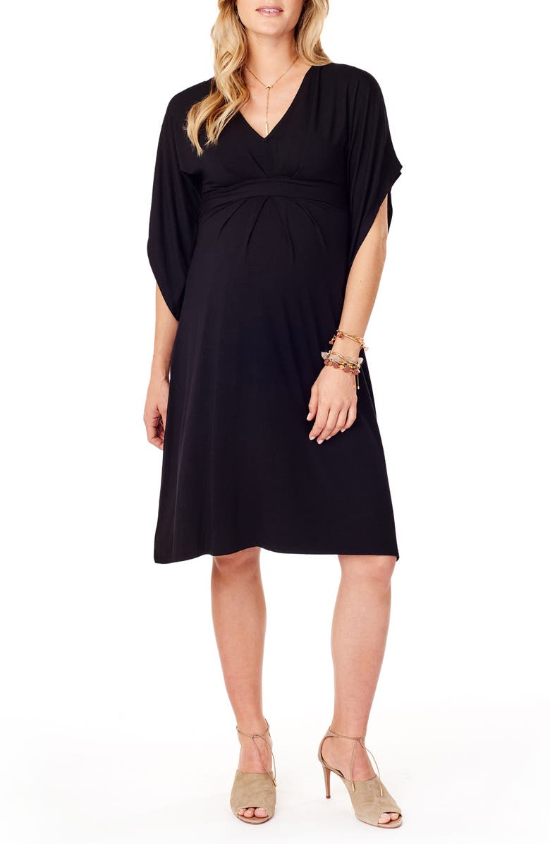 Ingrid Isabel Split Sleeve Maternity Dress