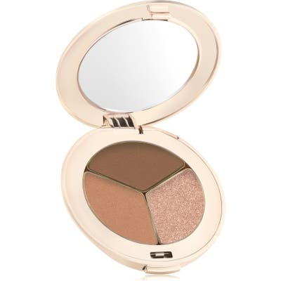 Jane Iredale Purepressed Triple Eyeshadow - Triple Cognac