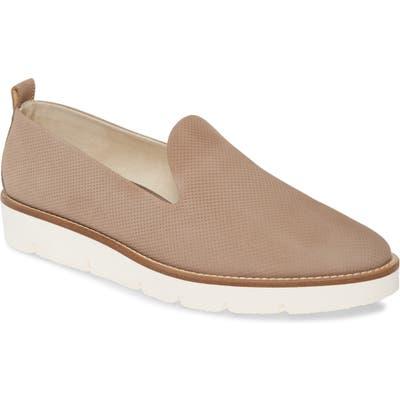 Paul Green Bahama Perforated Slip-On Sneaker - Grey