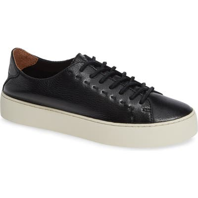 Frye Lena Woven Low Top Sneaker- Black