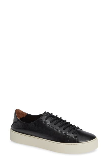 Image of Frye Lena Low Top Leather Sneaker