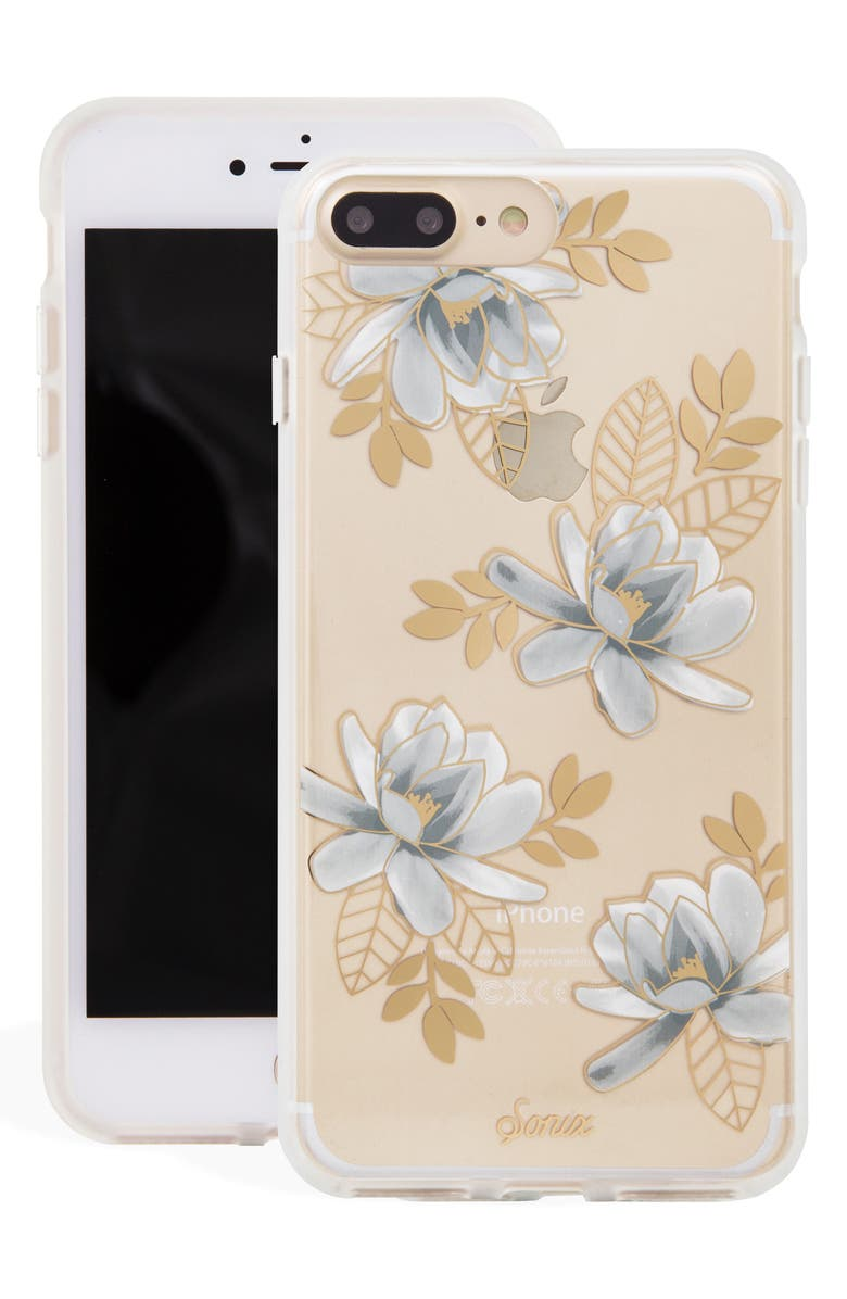SONIX Magnolia iPhone 7/8 & 7/8 Plus Case, Main, color, 100