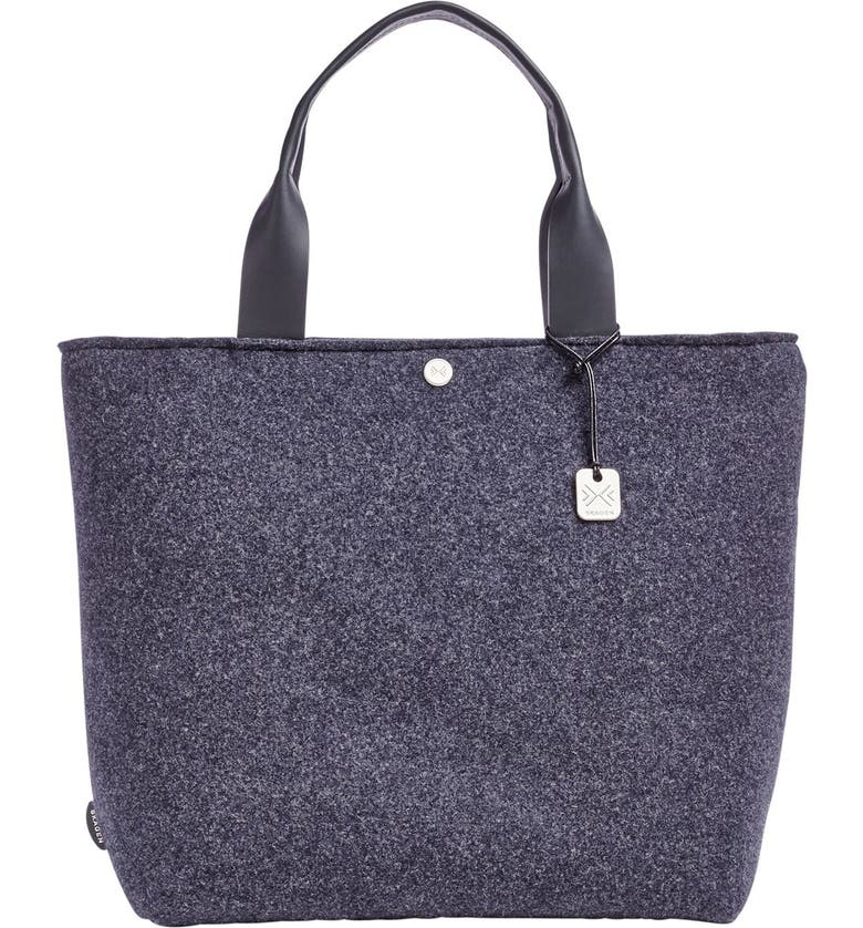 SKAGEN 'Anja' Wool Tote, Main, color, 001