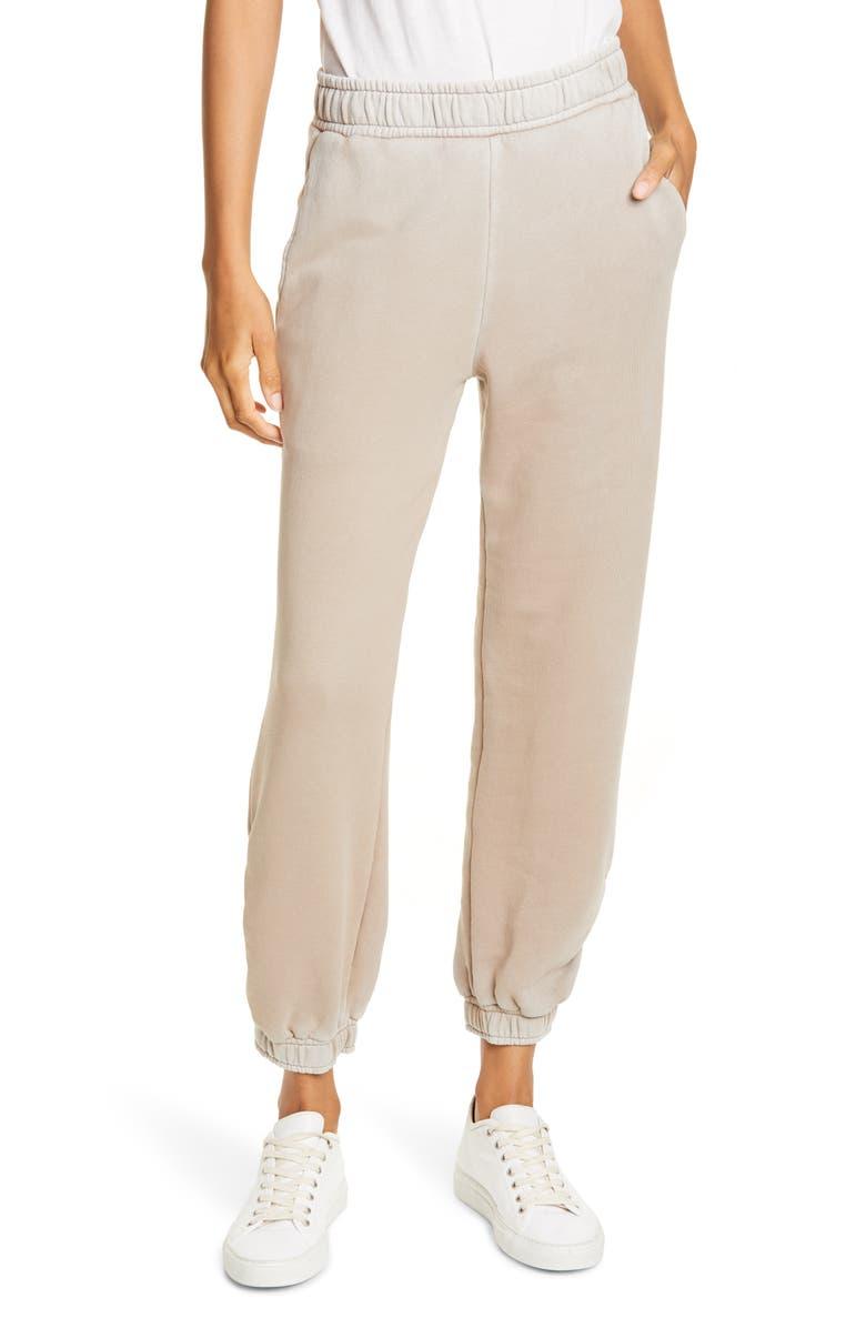 COTTON CITIZEN Brooklyn Tie Dye Sweatpants, Main, color, VINTAGE SAND DOLLAR