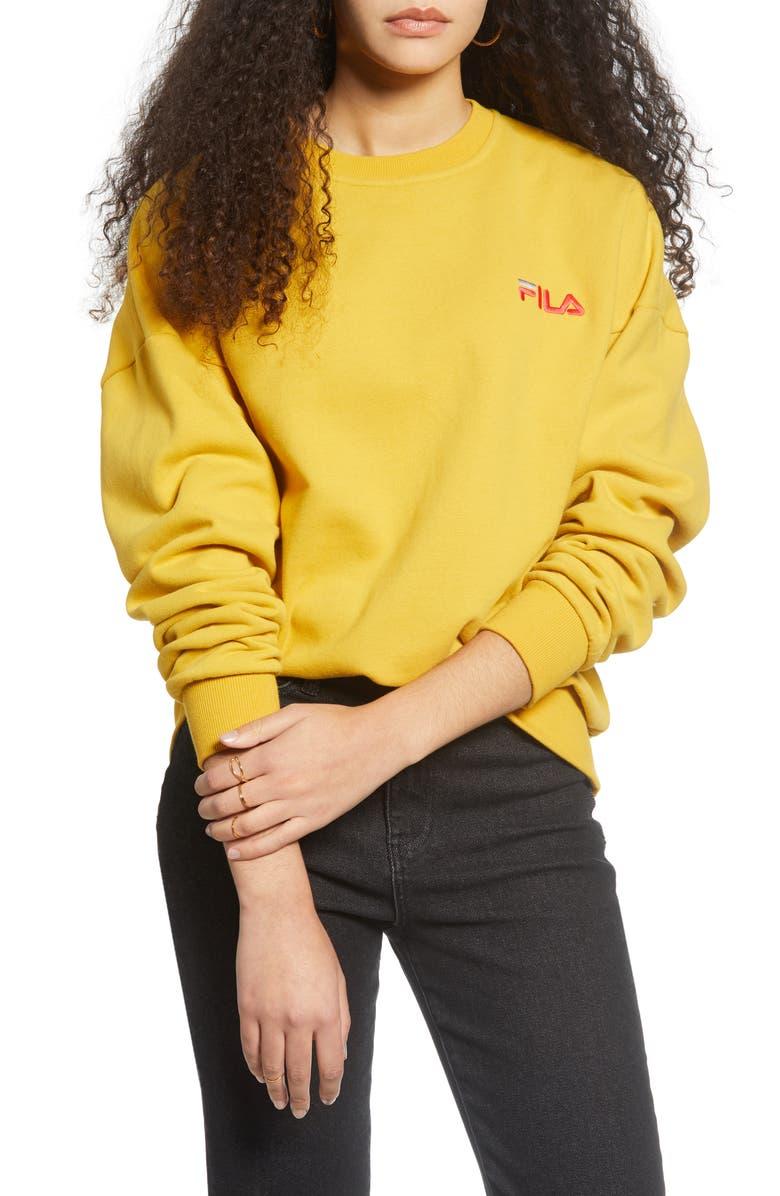 FILA Lanica Logo Sweatshirt, Main, color, 769