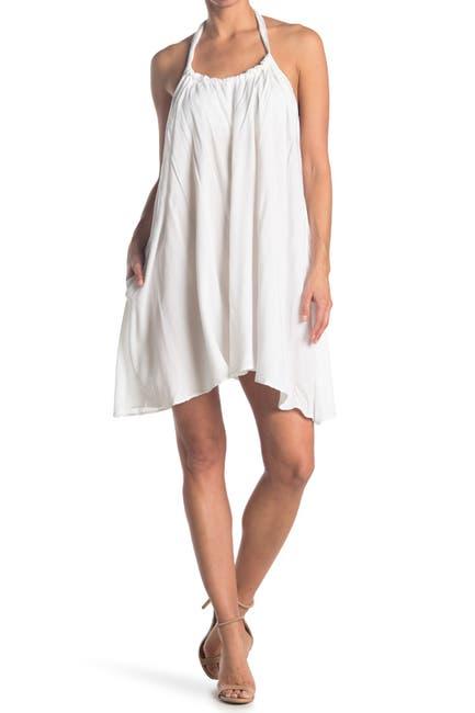 Image of ELAN Halter Neck Cover-Up Dress