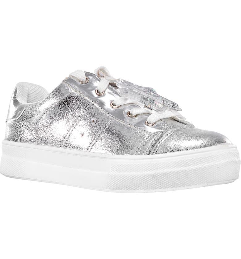 NINA Karima Metallic Sneaker, Main, color, 045