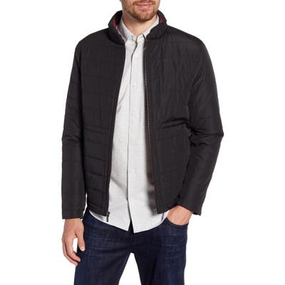 Nordstrom Signature Quilted Jacket, Black