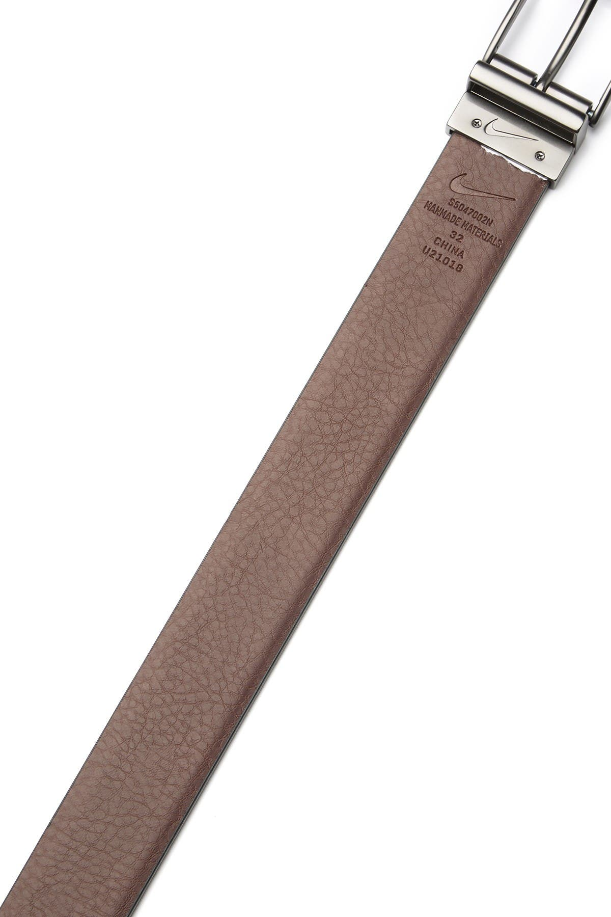Image of Nike Feather Edge Textured Reversible Belt