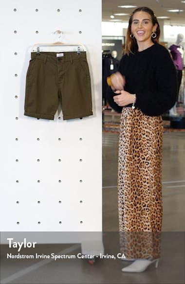 Stretch Skinny Chino Shorts, sales video thumbnail