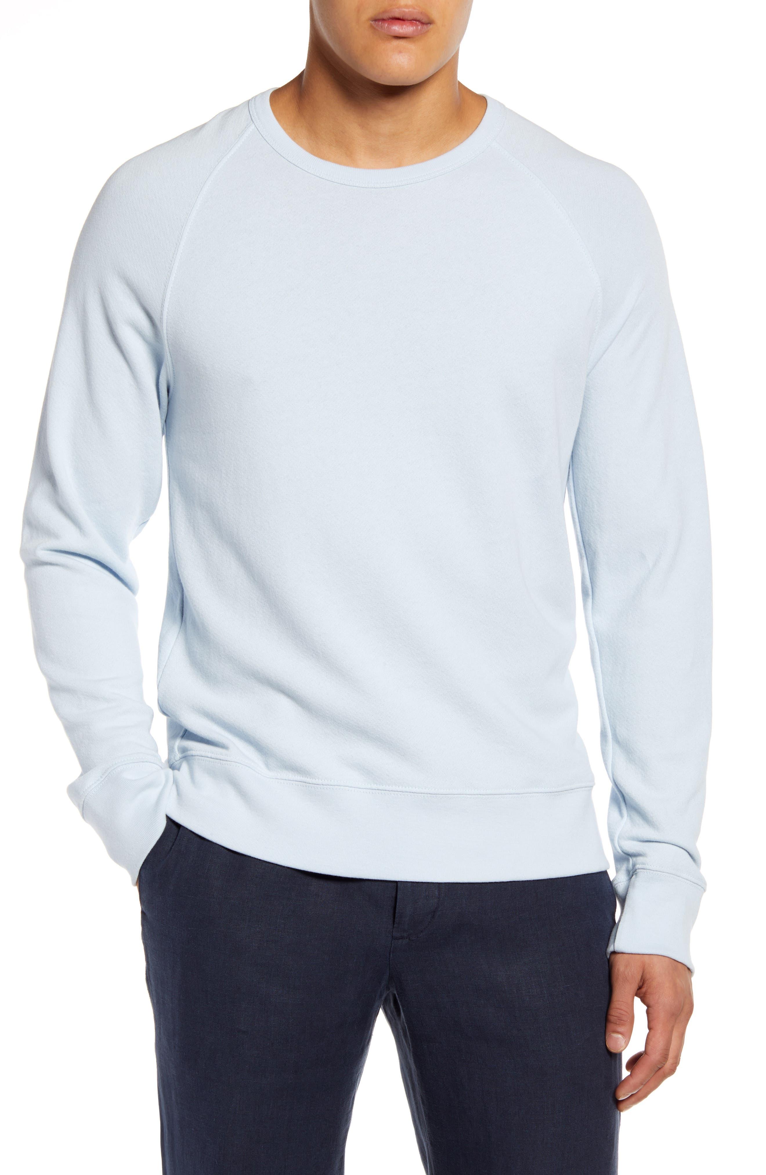 Image of Vince Garment Dye Crew Neck Sweatshirt