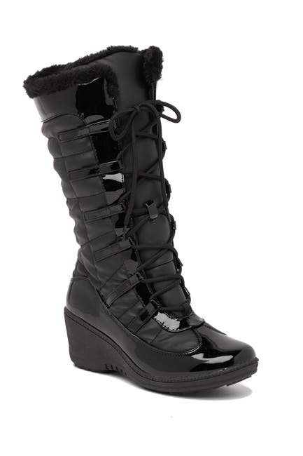 Image of Aquatherm by Santana Canada Scarlet Faux Fur Lined Cold Weather Boot