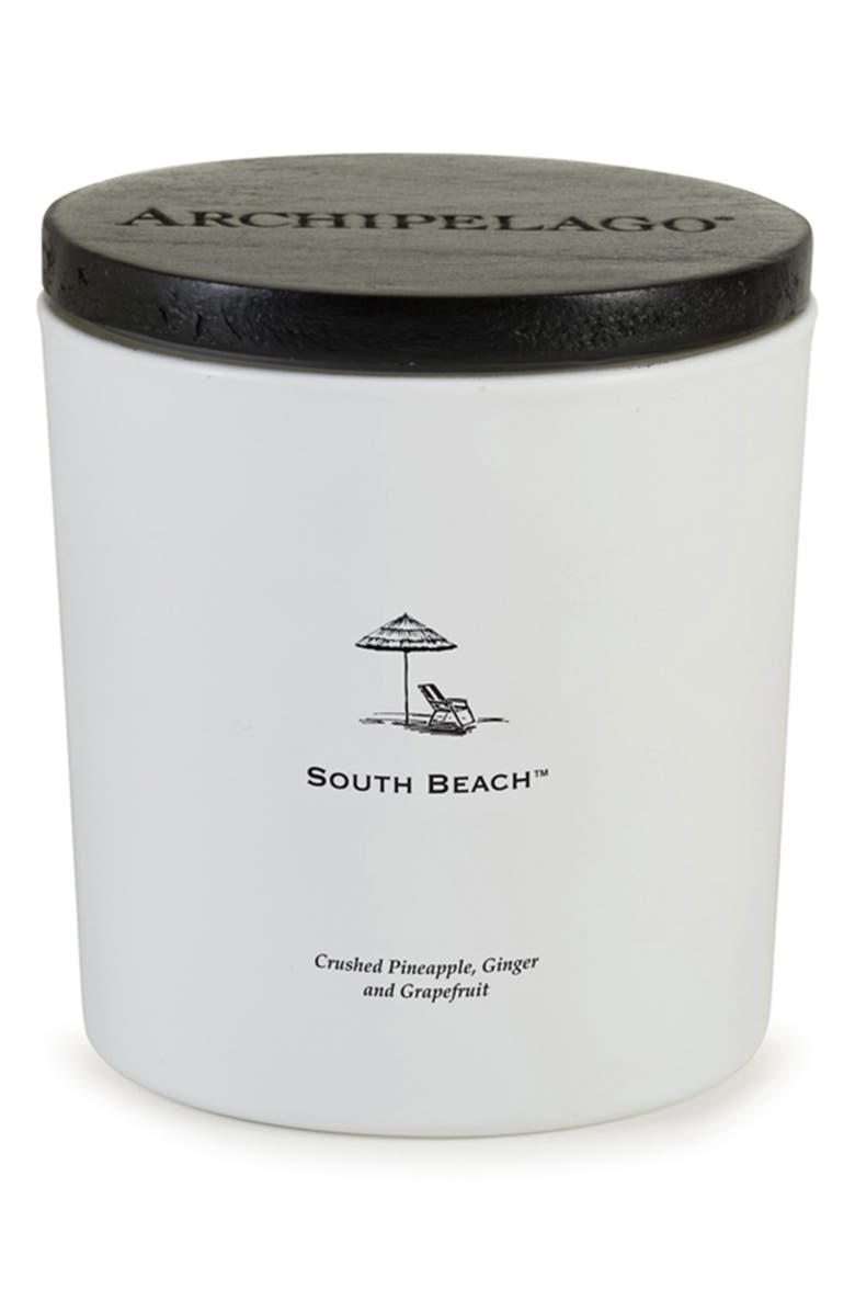 ARCHIPELAGO BOTANICALS South Beach Luxe Candle, Main, color, SOUTH BEACH
