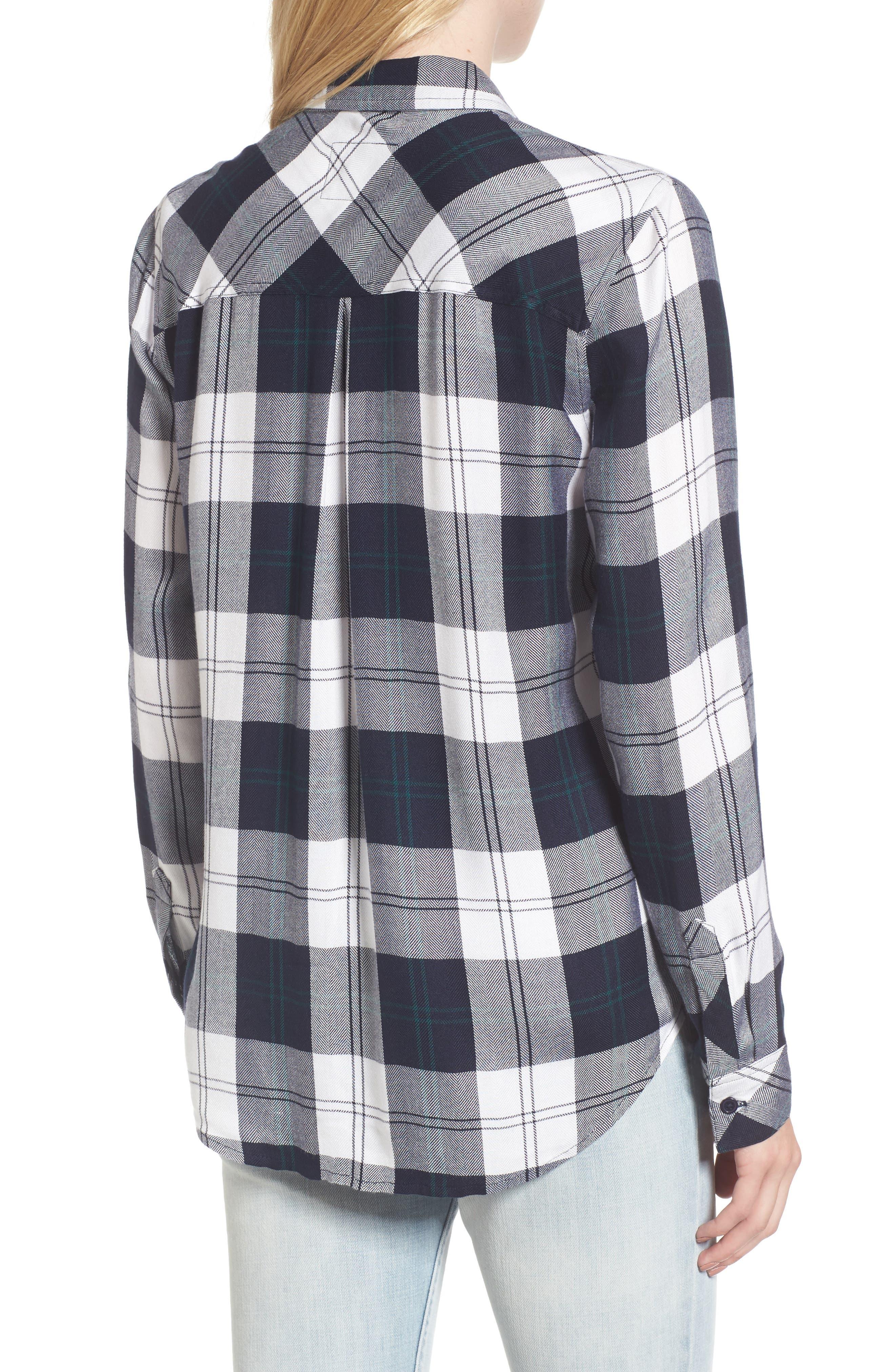 ,                             Hunter Plaid Shirt,                             Alternate thumbnail 344, color,                             413