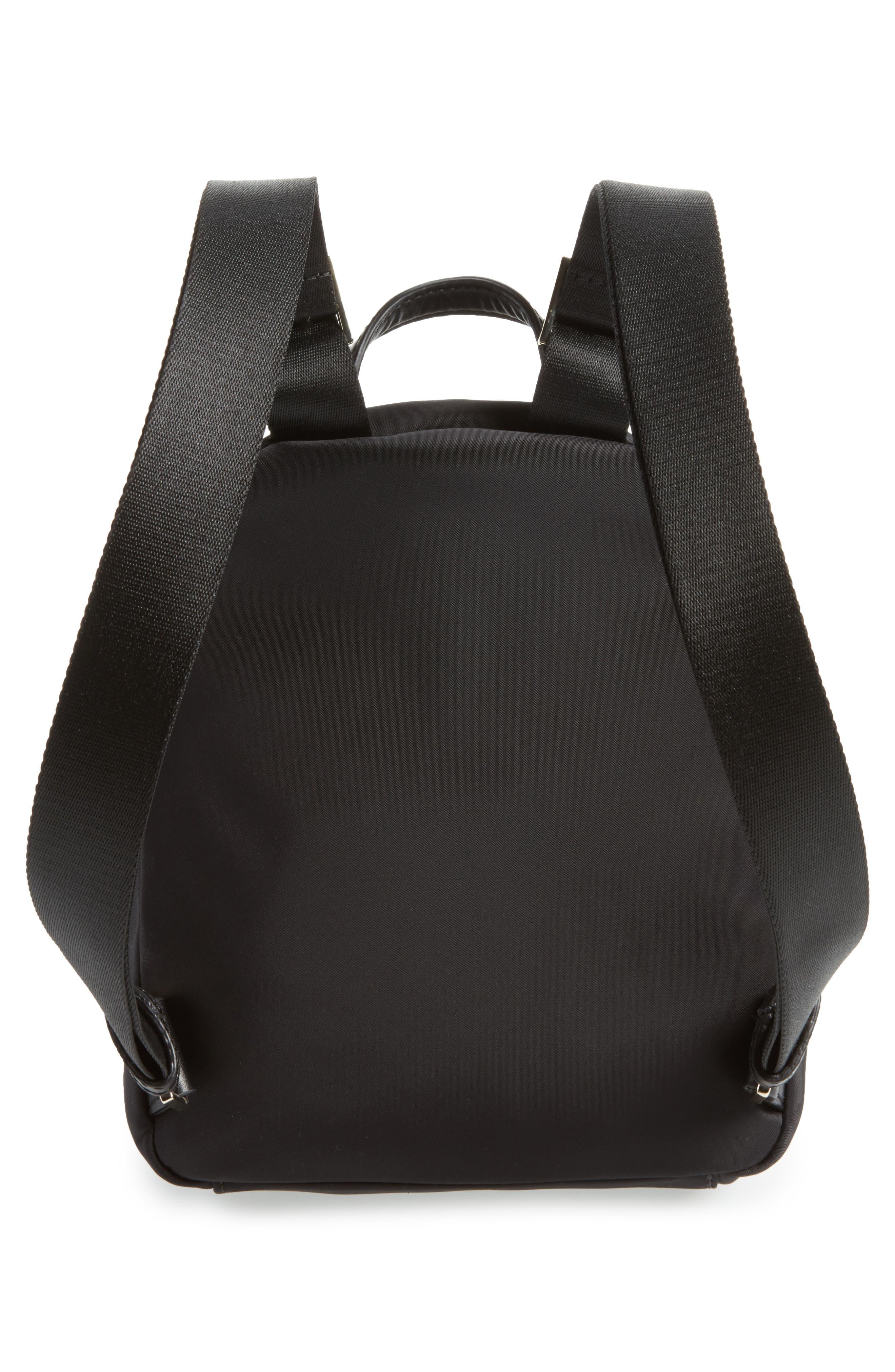 ,                             watson lane - small hartley nylon backpack,                             Alternate thumbnail 4, color,                             BLACK