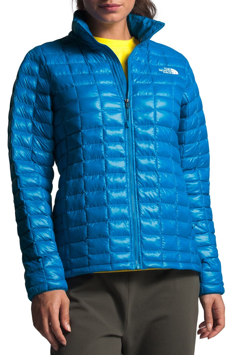 THE NORTH FACE ThermoBall<sup>™</sup> Eco Packable Jacket, Main, color, CLEAR LAKE BLUE