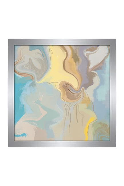 Image of PTM Images Soft Earthy Abstracts 1 Framed Print
