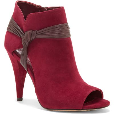 Vince Camuto Annavay Bootie- Red