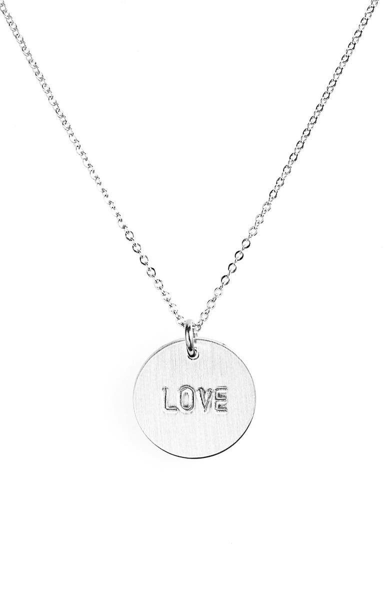 NASHELLE Love Charm Necklace, Main, color, 040