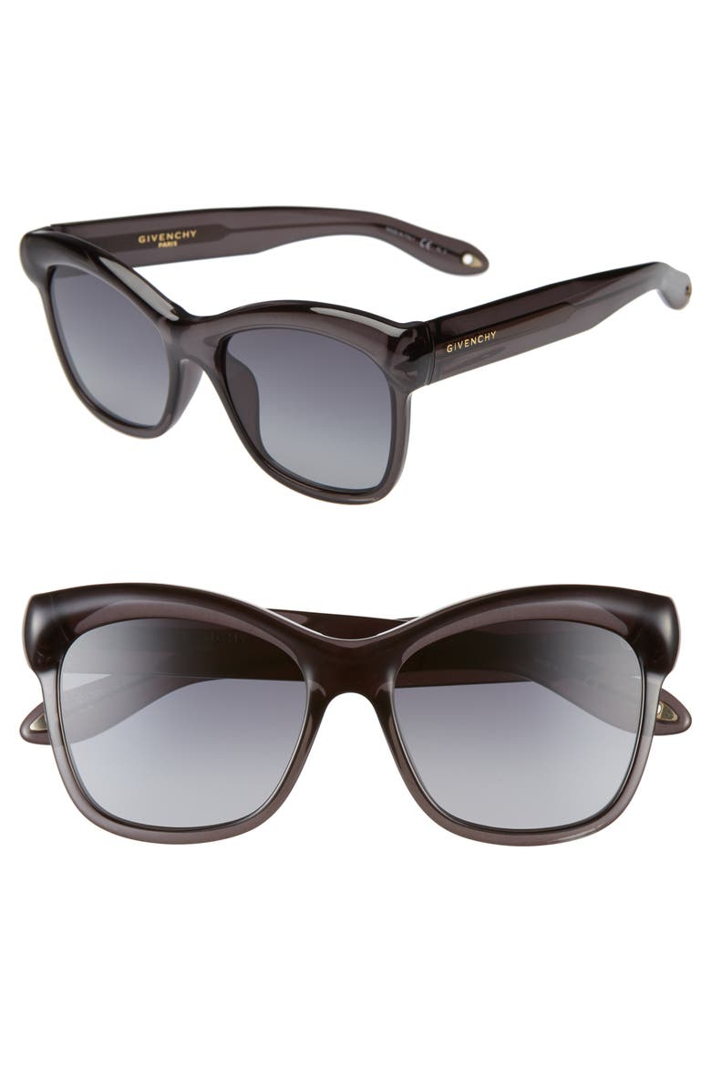 GIVENCHY 55mm Gradient Cat Eye Sunglasses, Main, color, 020