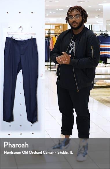 Roma Flat Front Wool Dress Pants, sales video thumbnail