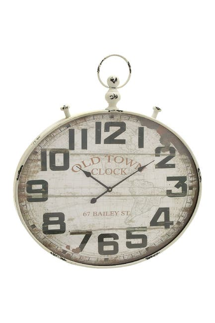 Image of Willow Row Wooden Wall Clock