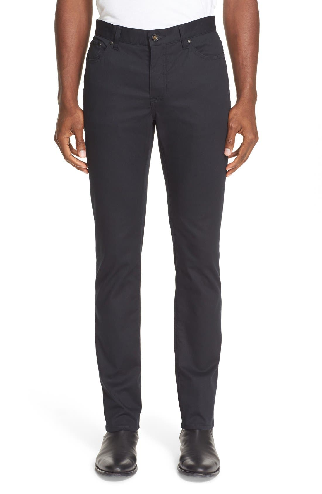 Slim Fit Five Pocket Pants