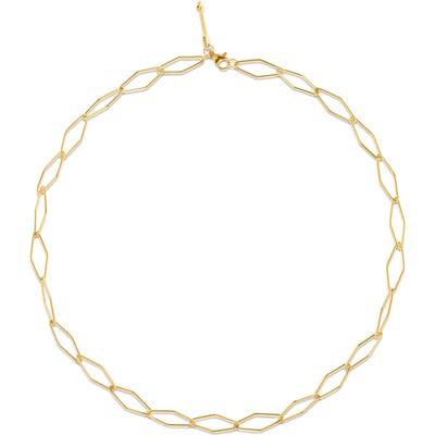 Ellie Vail Zane Geometric Link Necklace