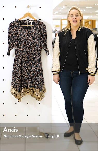 Lia Floral Silk Blend Dress, sales video thumbnail