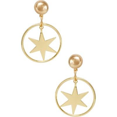 Ettika Statement Star Earrings