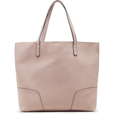 Sole Society Lilyn Faux Leather Tote - Pink