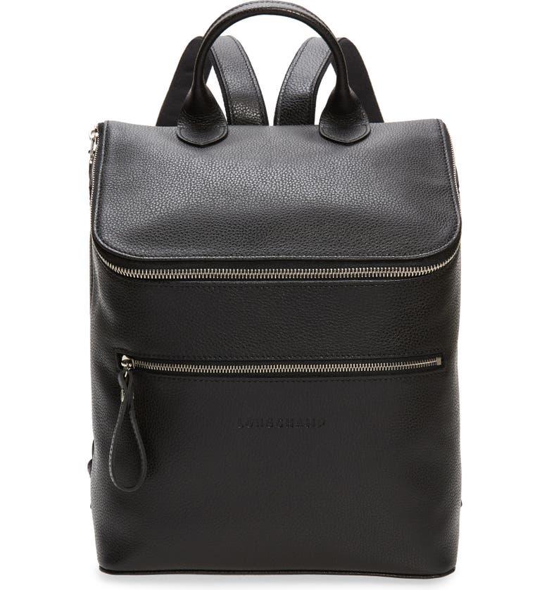 Longchamp Le Foulonne Leather Backpack | Nordstrom