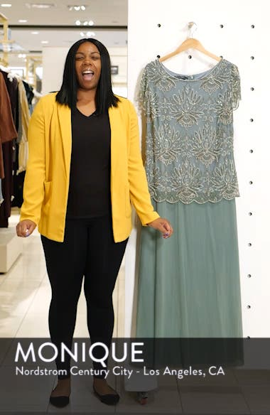 Embellished Bodice Evening Dress, sales video thumbnail