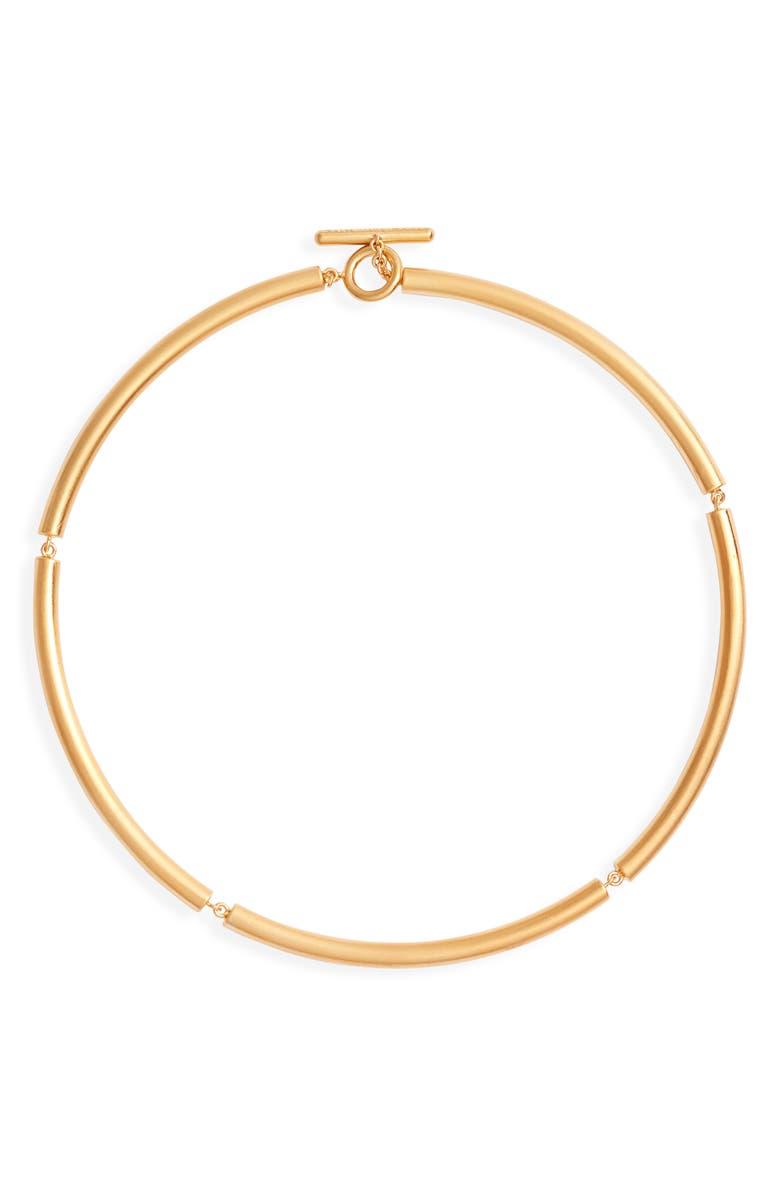 DEAN DAVIDSON Savannah Collection Tubular Collar Necklace, Main, color, GOLD
